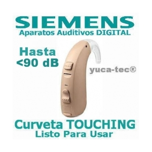 SIEMENS Aparato Auditivo Curveta DIGITAL Lotus TOUCHING