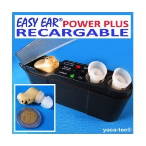 EASY EAR� POWER PLUS Aparato Auditivo RECARGABLE Dentro Del O�do