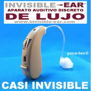 INVISI-EAR� DE LUJO Aparato Auditivo Sordera Peque�o Discreto