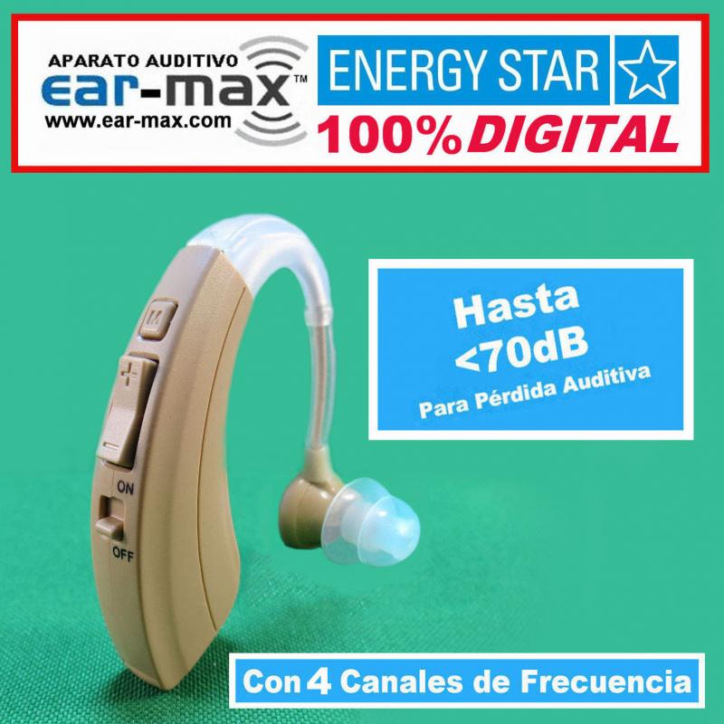 EAR MAX® ENERGY STAR - Aparato Auditivo 100% DIGITAL