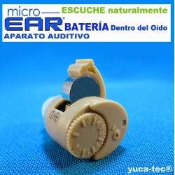 MICRO EAR® Aparato Auditivo - Dentro del Oído