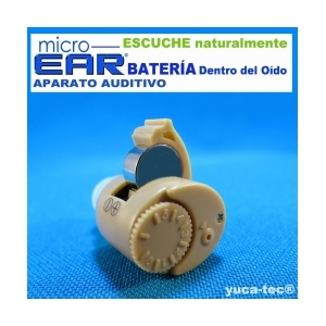 MICRO EAR® Aparato Auditivo - Dentro del Oído