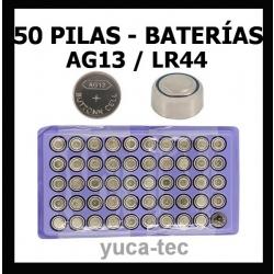 50 pilas tipo bot n pila bateria para ear max bater a ag - Tipos de pilas de boton ...